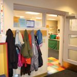 Child Care inside entrance