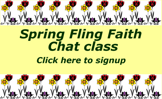 Spring Fling Faith class signup