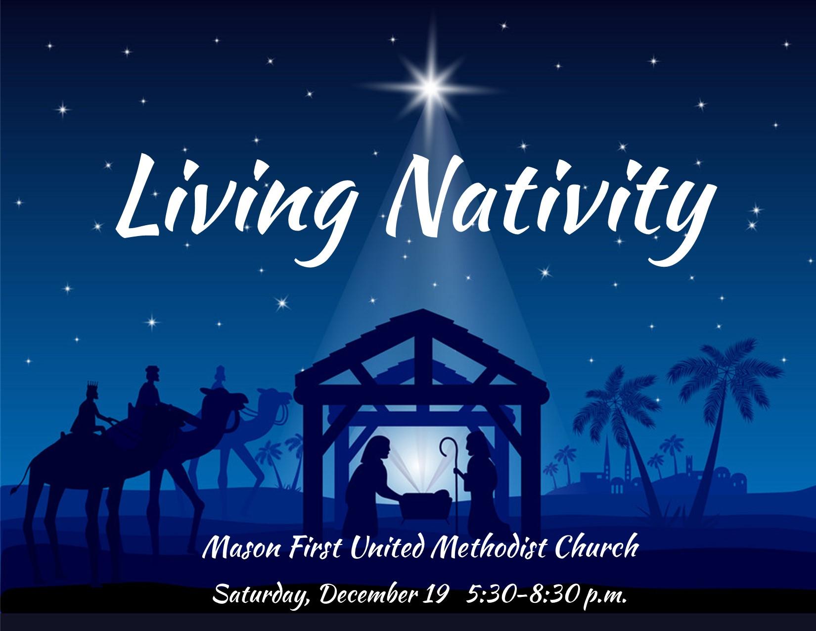 Living Nativity Signup