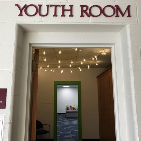 Youth Room entrance