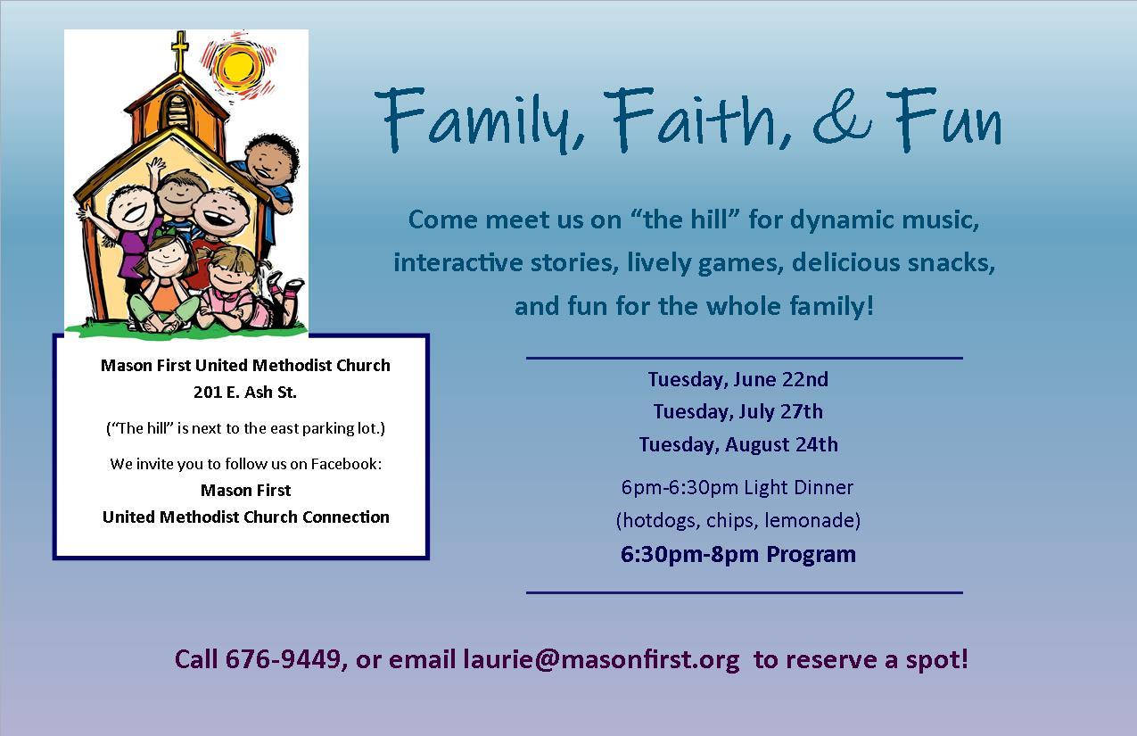Family, Faith & Fun